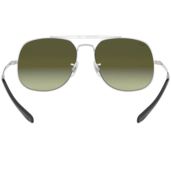 Ray-Ban The General Sunglasses Silver w/Pink Gradient/Mirrored Lens Men RB3561 003/7O
