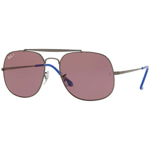 Ray-Ban The General Men's Sunglasses W/Violet Polarized Lens RB3561 9106W0