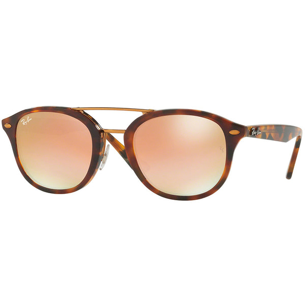 Ray Ban Unisex Square Sunglasses Green or Brown Lens | Front