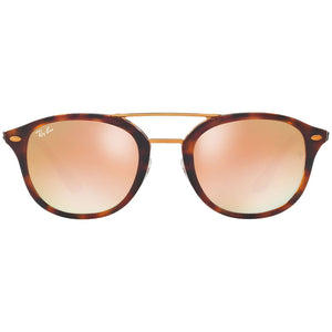 Ray Ban Unisex Square Sunglasses With Green or Brown Lens