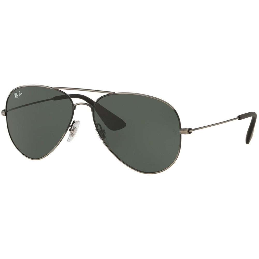 Ray Ban Aviator Unisex Sunglasses w/Dark Green Lens RB3558 913971