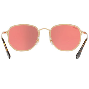 Ray Ban Blaze Hexagonal Square Unisex Sunglasses - Back View