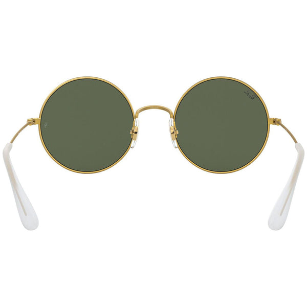 Ray-Ban Ja-Jo Round Women's Sunglasses Gold Rubber RB3592 901371