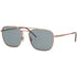 Ray Ban Square Men's Sunglasses w/Blue Lens RB3588 9146/1