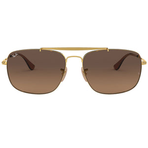 Ray-Ban The Colonel Sunglasses Havana/Gold w/Brown Gradient Lens Unisex