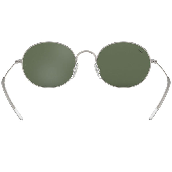 Ray-Ban Sunglasses Silver w/Green Lens Unisex RB3594 911671 53