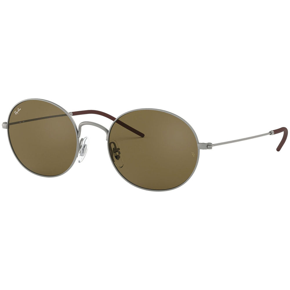Ray Ban Beat Round Unisex Sunglasses w/Dark Brown Lens RB3594 901573
