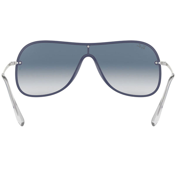 Ray-Ban Sunglasses Blue on Top Greye w/Clear/Blue/Red Gradient/Mirrored Lens Unisex RB4311N 6374X0