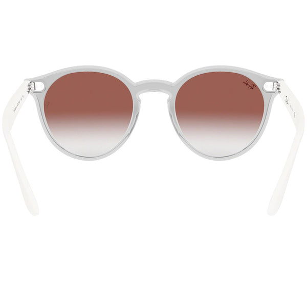 Ray-Ban Sunglasses Matte Transparent w/Pink/Clear Gradient/Mirrored Lens Unisex RB4380N 6357V0