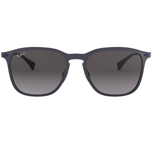 Ray-Ban Sunglasses Blue Graphene w/Dark Grey Gradient/Polarized Lens Unisex RB8353 6353T3