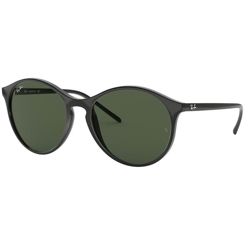 Ray-Ban Women's Sunglasses W/Green Lens RB4371 601/71