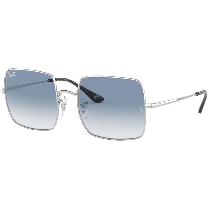 Ray Ban Square 1971 Classic Unisex Sunglasses w/Light Blue Gradient Lens RB1971 91493F