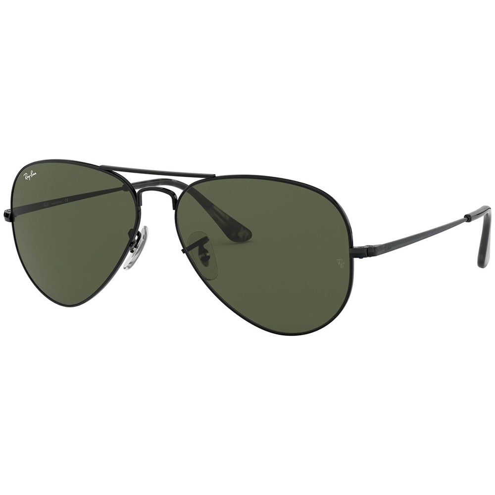 Ray Ban Unisex Sunglasses w/Crystal Green Lens RB3689 914831