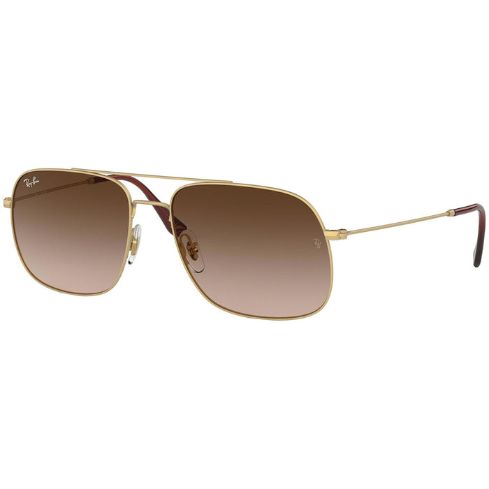 Ray Ban Unisex Sunglasses w/Brown Gradient Lens RB3595 901313