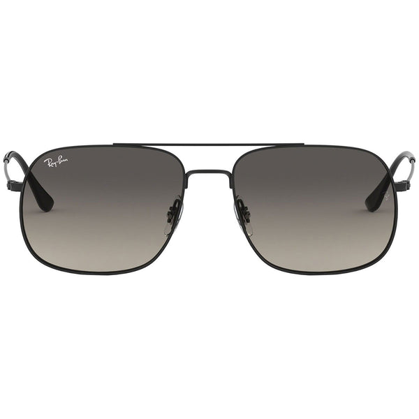 Ray Ban Aviator Unisex Sunglasses w/Grey Gradient Lens RB3595 901411