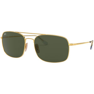 Ray Ban Unisex Sunglasses w/Green Classic G-15 Lens RB3611 001/31