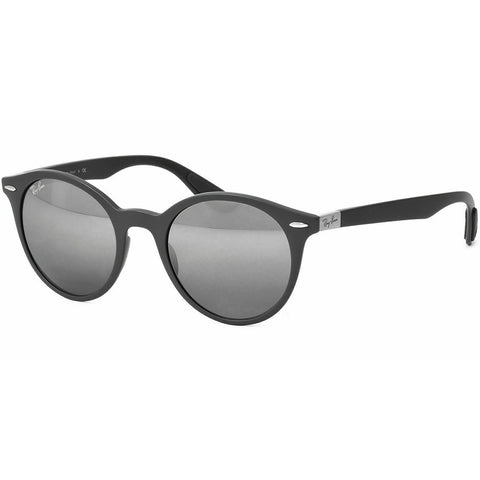 Ray-Ban Unisex Sunglasses Matte Dark Grey Frame W/Grey Silver Gradient Lens RB4296 6332880