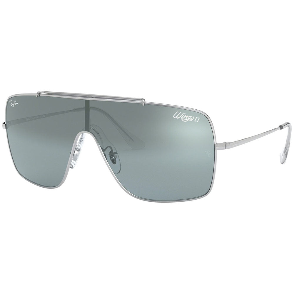 Ray Ban Wings II Men's Sunglasses w/Silver Gradient Mirrored Lens RB3697 003/Y0