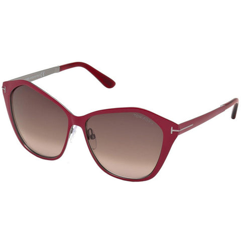 Tom Ford Lena Women's Sunglasses With Brown Gradient Lens FT0391 69Z