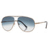 Tom Ford Men's Aviator Sunglasses Gradient Lenses FT045028P