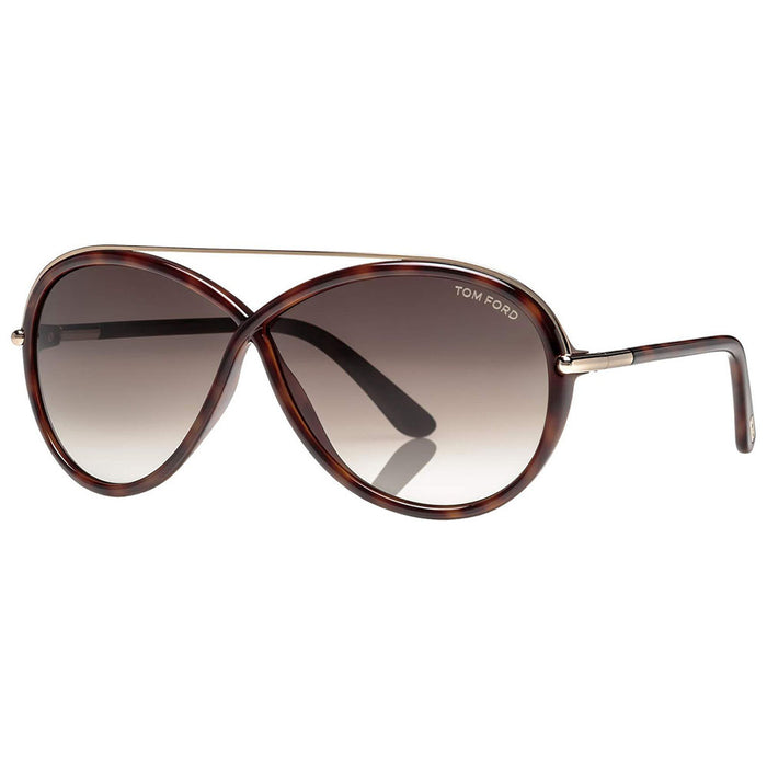 Tom Ford Tamara Women's Sunglasses With Roviex Gradient Lens FT0454 52K