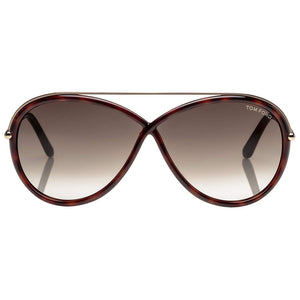 Tom Ford Aaron Men's Sunglasses Green Lens - Front View