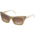 Tom Ford Kasia Cat Eye Women's Sunglasses Brown Lens