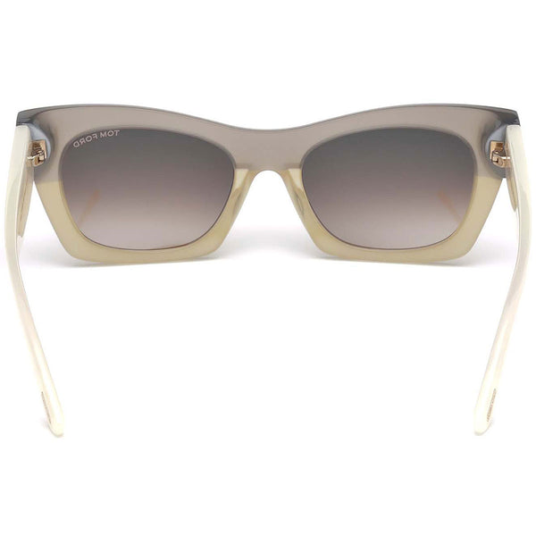 Tom Ford Kasia Cat Eye Women's Sunglasses | Back Side View