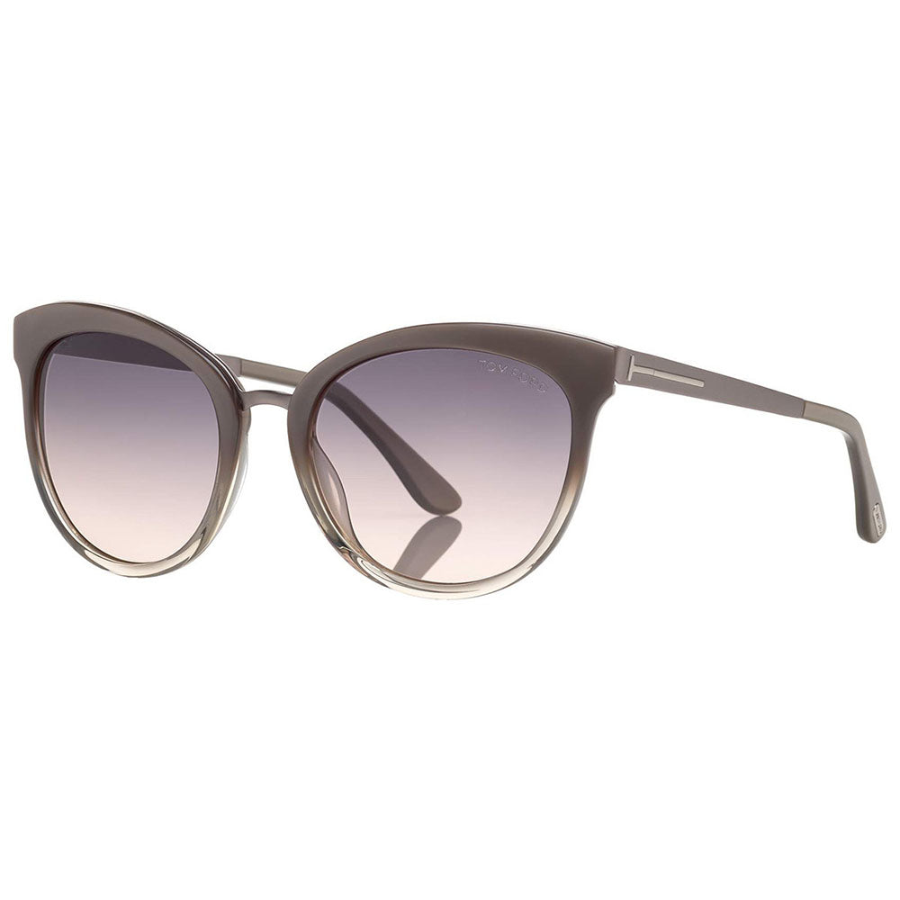 Tom Ford Cat Eye Women's Gradient Sunglasses Brown Lens