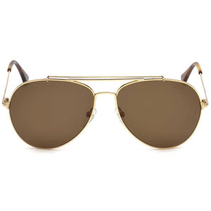 Tom Ford Indiana Aviator Unisex Sunglasses FT0497 28H - Front