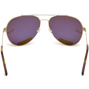 Tom Ford Indiana Aviator Unisex Sunglasses FT0497 28H