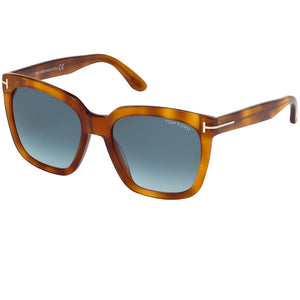 Tom Ford Square Amarra Women's Sunglasses FT0502-53W