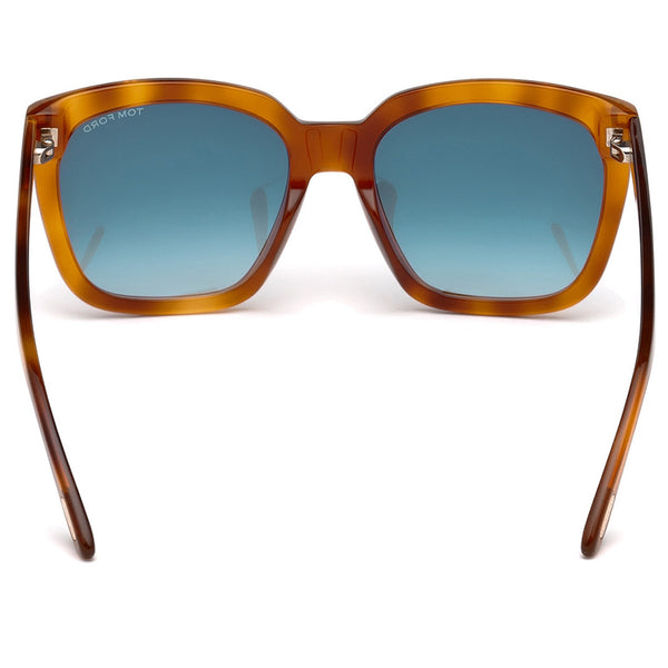 Tom Ford Square Amarra Women's Sunglasses | Back View