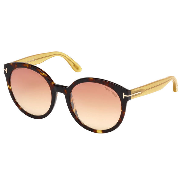Tom Ford Philippa Women Sunglasses Mirror Lens - Full Frame