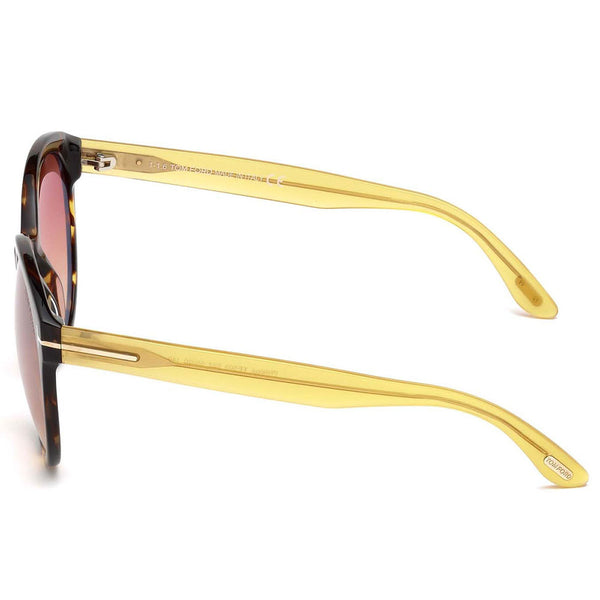 Tom Ford Women Sunglasses Mirror Lens FT0503 52Z - Side View