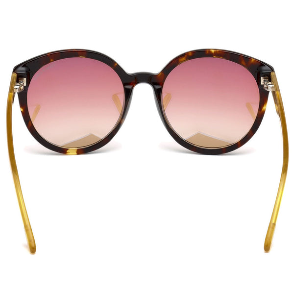 Tom Ford Philippa Sunglasses Mirror Lens FT0503 52Z - Back View