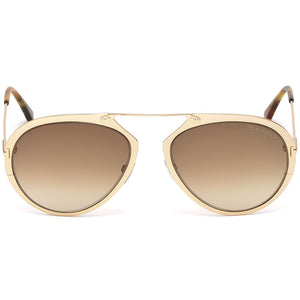 Tom Ford Dashel Unisex Sunglasses FT0508 28F | Front View