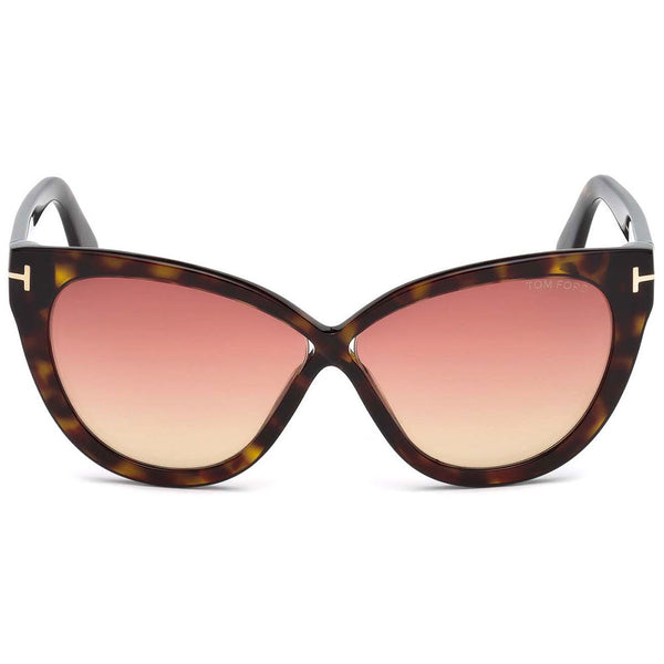 Tom Ford Cat Eye Arabella Sunglasses FT0511 52B - Front View