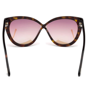 Tom Ford Arabella Women's Sunglasses FT0511 52B - Back View