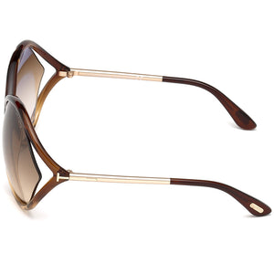 Tom Ford Liora Oversize Womens Sunglasses | Side View