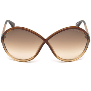 Tom Ford Liora Oversize Womens Sunglasses | Front View