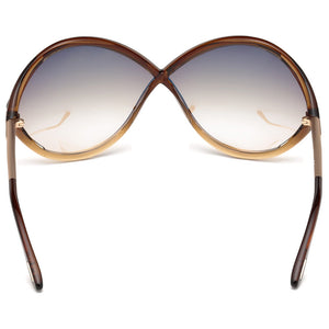 Tom Ford Liora Oversize Womens Sunglasses | Back View