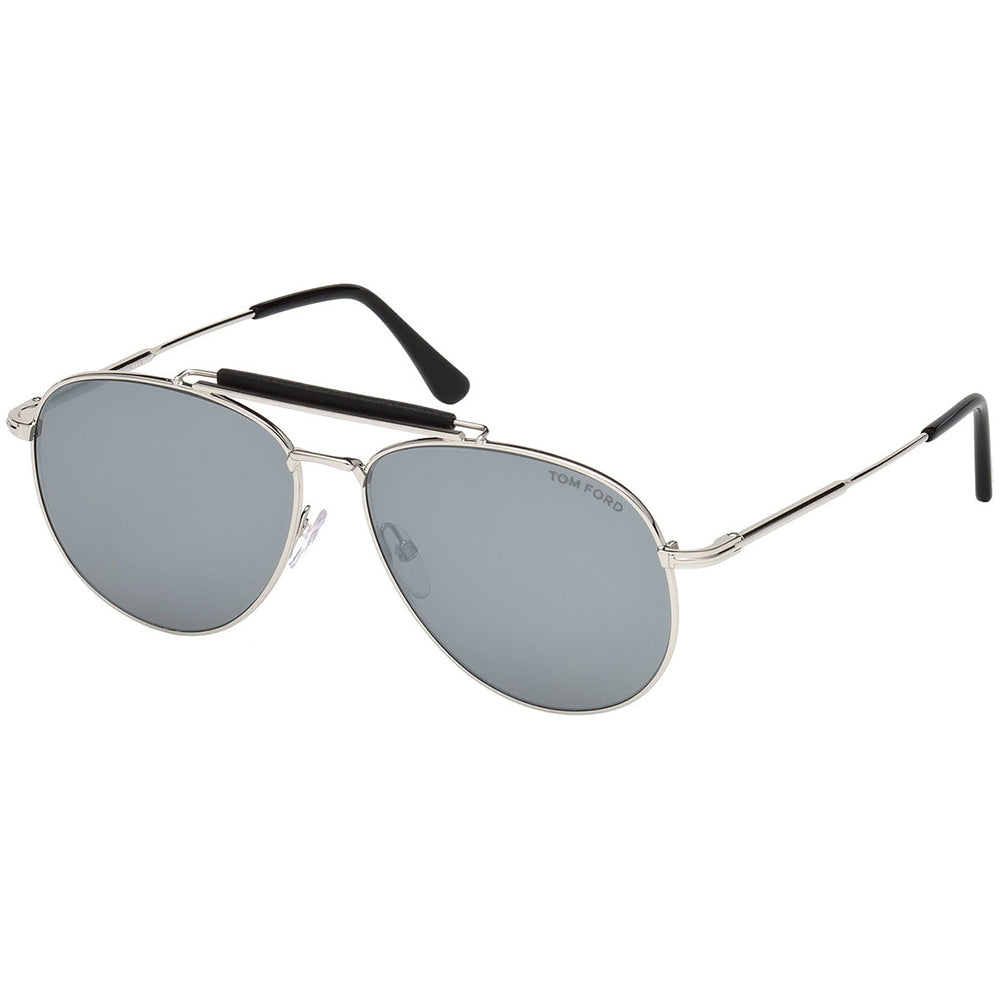 6cf8432be Tom Ford Sean Men's Sunglasses w/Smoke Silver Mirrored Lens FT0536 16C