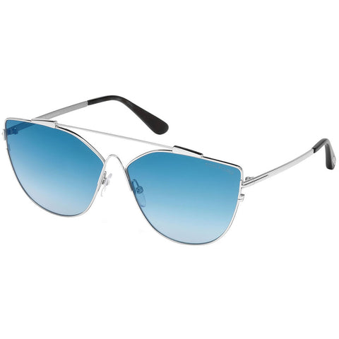 Tom Ford Jacquelyn Women's Sunglasses W/Blue Mirrored Lens FT0563 18X