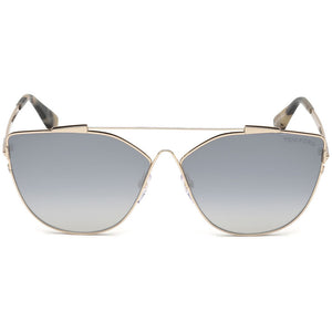 Tom Ford Jacquelyn Cat Eye Women's Sunglasses Smoke | Front