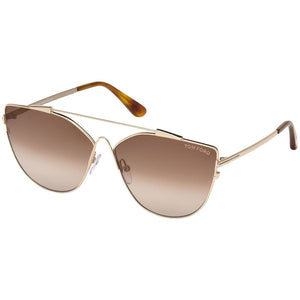 Tom Ford Women's Sunglasses W/Brown Mirrored Lens FT0563 28G