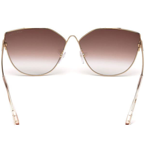 Tom Ford Jacquelyn Cat Eye Women's Sunglasses | Back View