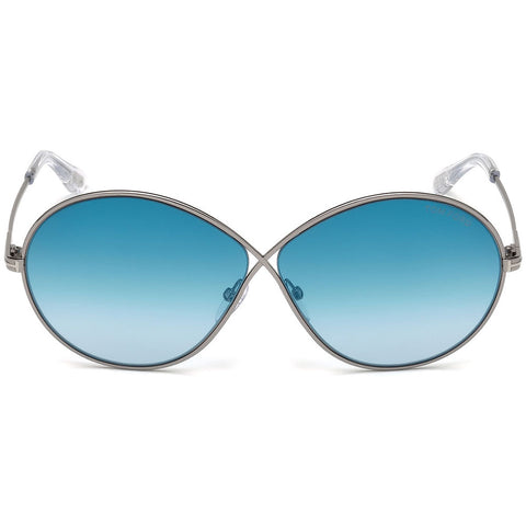 Tom Ford Rania Oval Gradient Sunglasses Women FT0564 14X