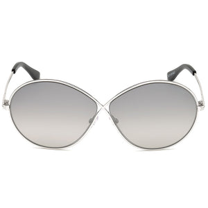 Tom Ford Rania Round Women's Sunglasses Smoke Lens | Front