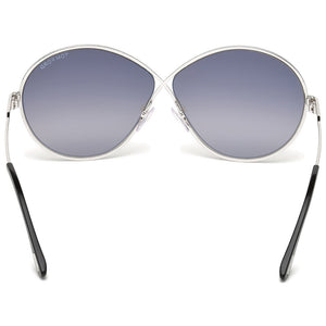 Tom Ford Rania Round Women's Sunglasses Smoke Lens | Back